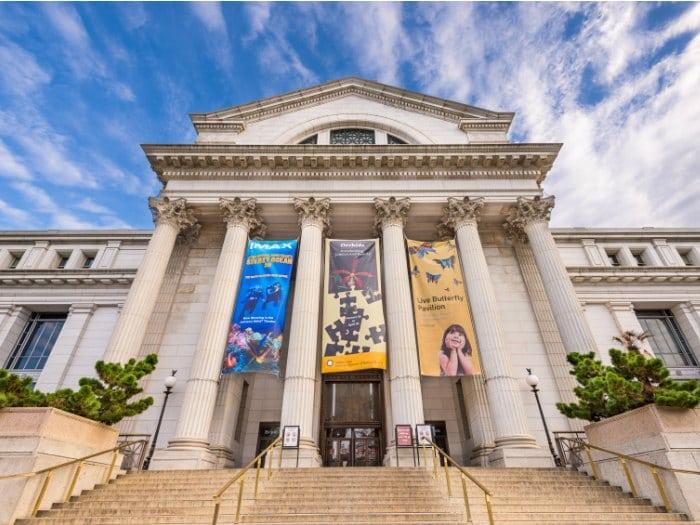 Museo Nacional de Historia Natural en Washington DC. Es considerado el segundo museo más visitado del mundo