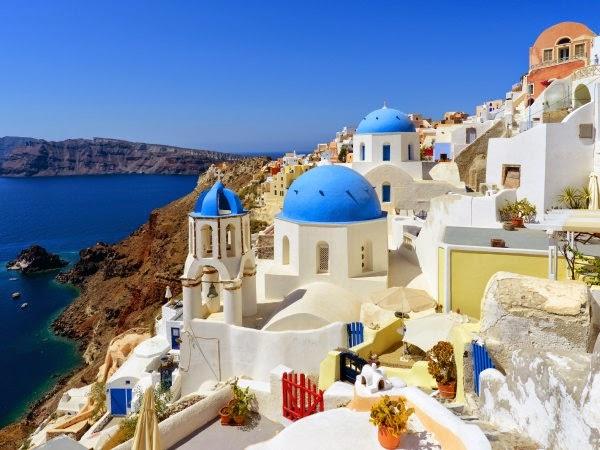 Pasar un d a nico en santorini qu ver y d nde ir viajar for Casas en islas griegas