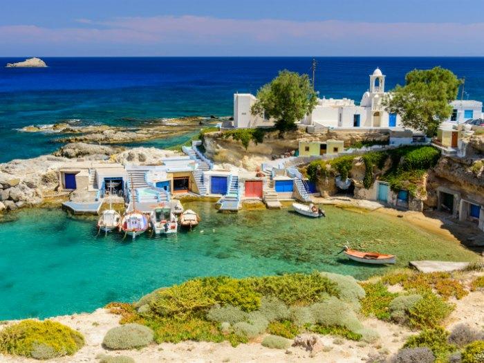 Vacaciones en las islas griegas viajar for Casas en islas griegas