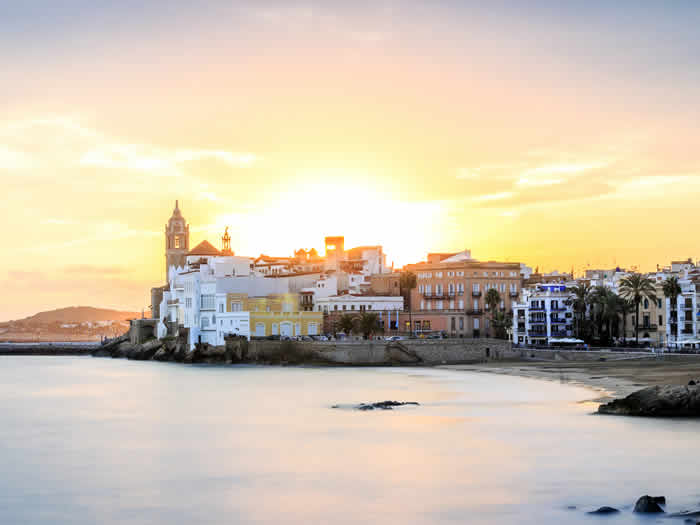 Pueblos románticos: Sitges