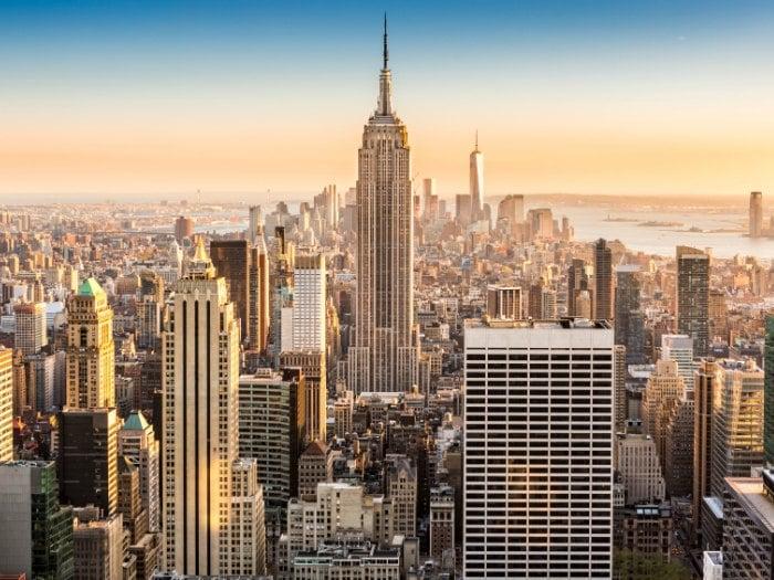 Vista del Empire State Building, Nueva York