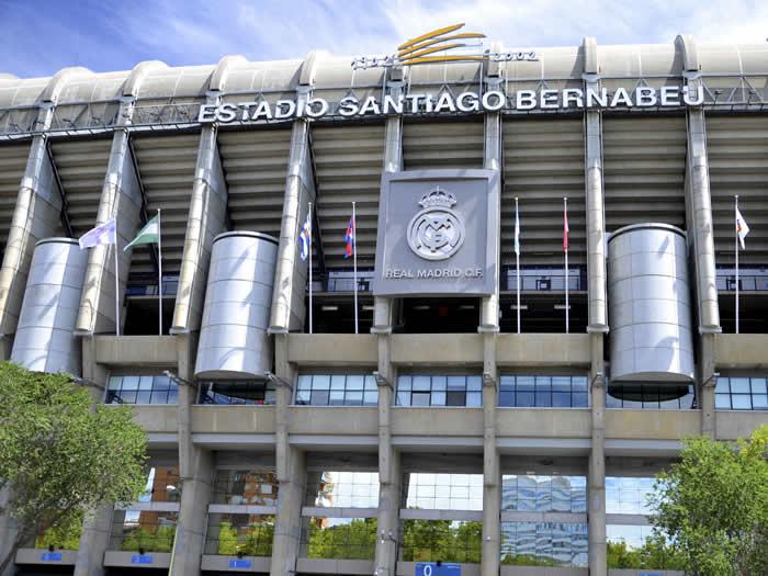 Estadio Santiago Bernabeu Madrid