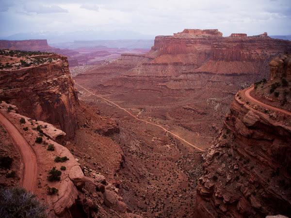 White rim trail, EE.UU.