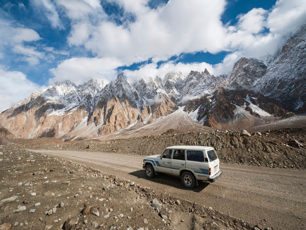 Carretera de Karakoram, de China a Pakistán