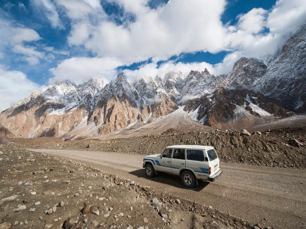 Carretera de Karakoram, de China a Pakistán