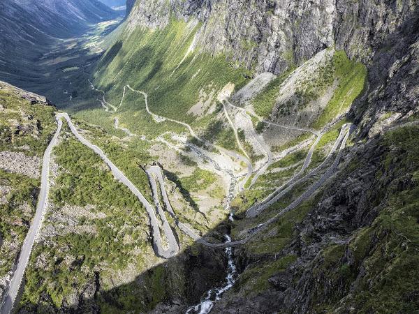Trollstigen, Noruega