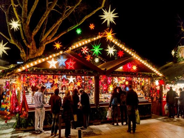 Mercados de Navidad en Stuttgart, Alemania.