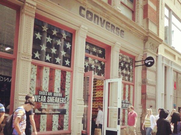 Converse Store en el Soho, Nueva York
