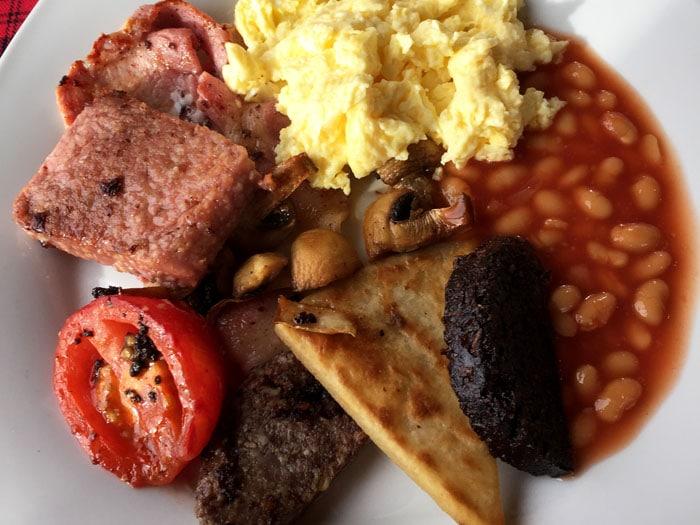 Desayuno escocés Viajar Euroresidentes
