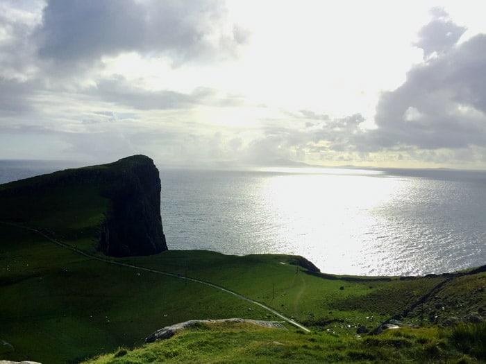 Escocia, Faro de Nest Point, vía Euroresidentes