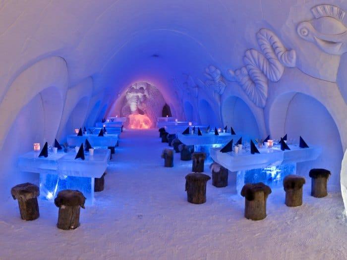 Lumilinna Snow Restaurant, Kemi, Finland