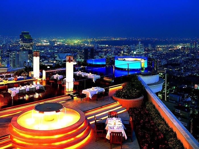 Sirocco, Bangkok, Tailandia