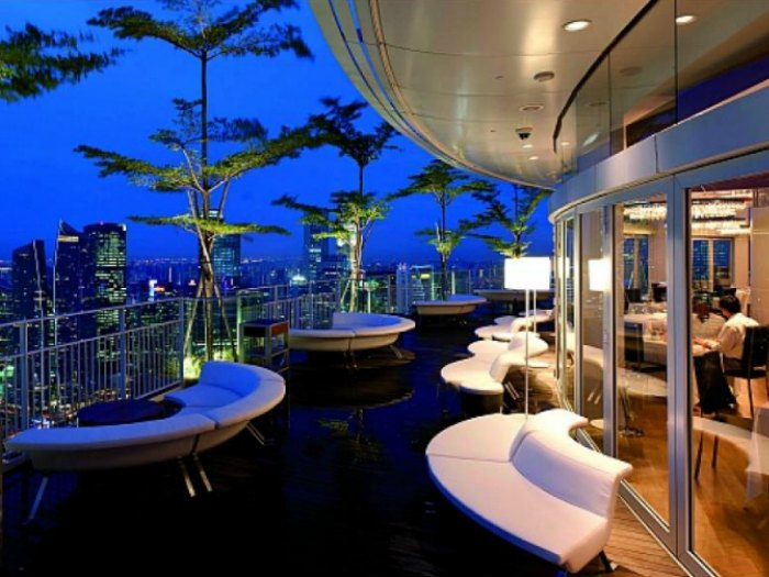 Sky on 57 - Marina Bay Sands Skypark - Singapur
