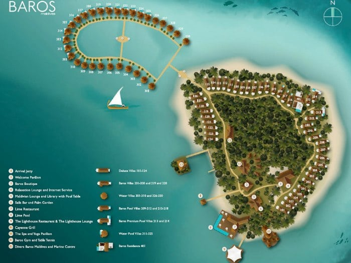 Baros Maldives Island