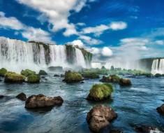 Iguacu Falls, Iguacu National Park, Waterfall, Argentina, Brazil