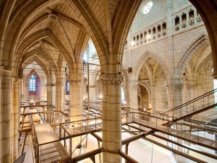 Cúpula catedral Santa María la vieja, País Vasco