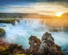 Islandia sol de medianoche