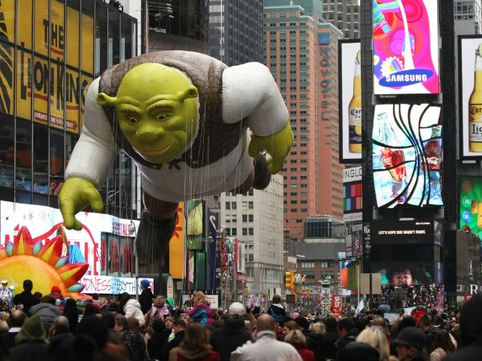 Shrek Macy's Thanksgiving Day Parade