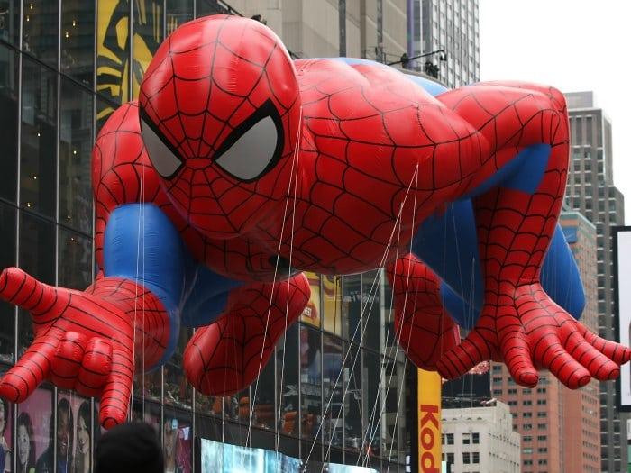 Spiderman Shrek Macy's Thanksgiving Day Parade