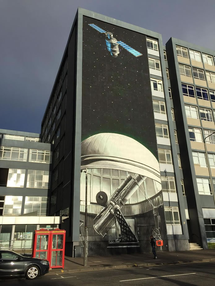 Arte urbano en Glasgow-