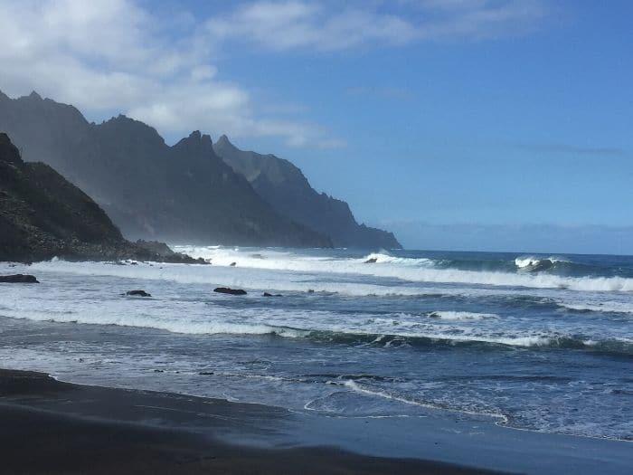 Playa los Roques, Taganana