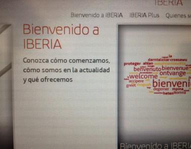 bienvenida-iberia-pantalla-aerolineas