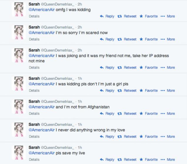 mensajes de twitter