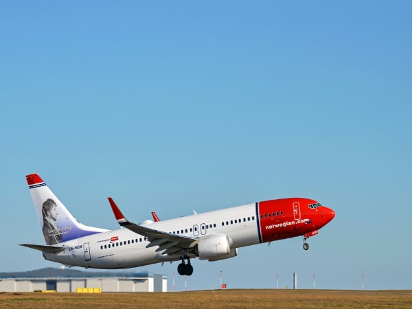 Avión de Norwegian Air