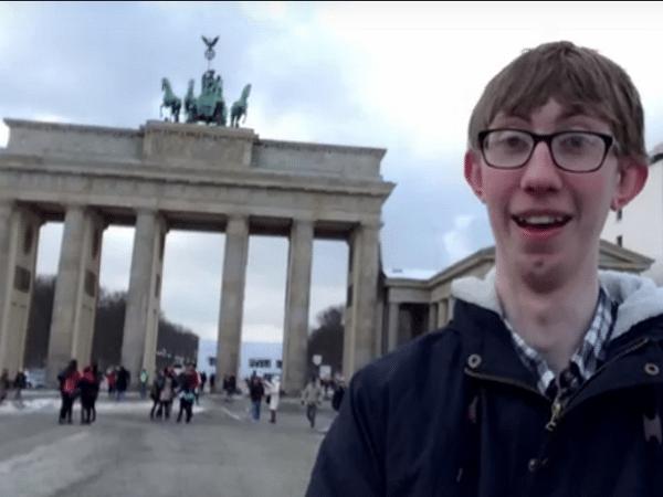 Jordon Cox en Berlín