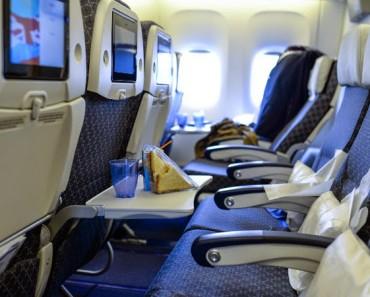 Cómo es nuestra personalidad según el asiento que elegimos en un avión