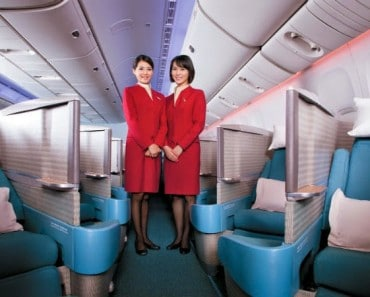 Cathay Pacific Airways: la mejor aerolínea de clase business