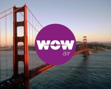 Nueva oferta de Wow Air: vuelos entre la costa oeste de los EE.UU. y Europa desde 199 dólares