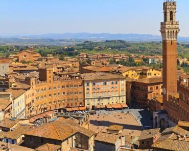 Siena, la rival de Florencia, uno de los sitios más hermosos de Italia
