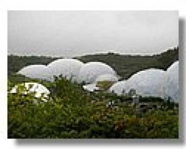 El hombre y la naturaleza: Eden Project