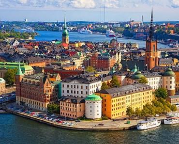Estocolmo, una ciudad construida encima de 14 islas