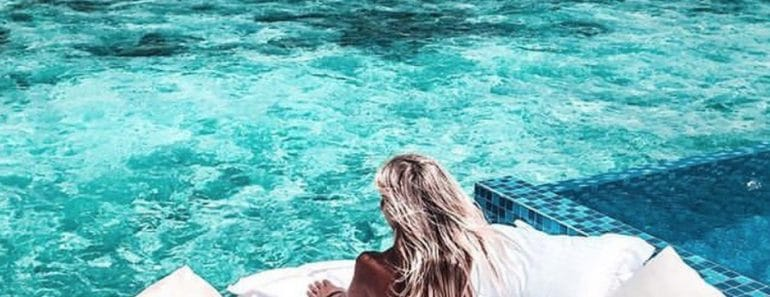 Dormir bajo las estrellas en Maldivas