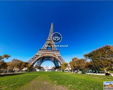 Visita virtual por París