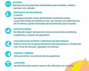 Playas de Alicante: normas para la desescalada y medidas de seguridad
