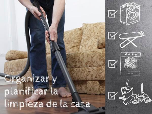 Organizar y planificar la limpieza de la casa - Como limpiar una casa ...